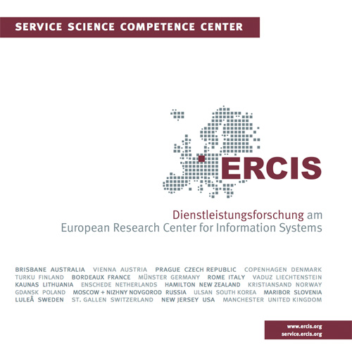 Download the Competence Center Service Science Brochure
